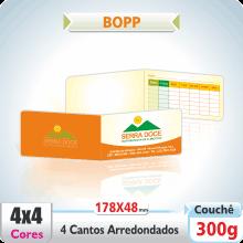 Carto Duplo (178x48mm) – 4 Cantos Arredondados – Fosco com ou sem Verniz – 4×4 cores (COM VERSO)