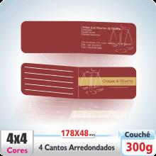 Carto Duplo (178x48mm) – 4 Cantos Arredondados – Verniz UV Total Brilho – 4×4 cores (COM VERSO)