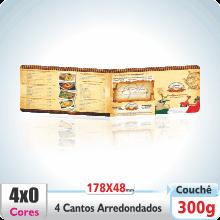 Carto Duplo (178x48mm) – 4 Cantos Arredondados – Verniz UV Total Brilho – 4×0 cores (SEM VERSO)