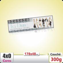 Marca-Pgina (178x48mm) Verniz UV Total Brilho Frente – 4×0 cores (SEM VERSO)