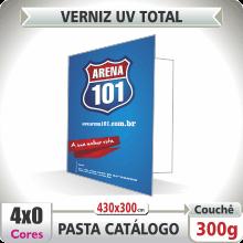 Pasta Catlogo (430x300mm) – Verniz UV Total Brilho – 4×0 cores (SEM VERSO)