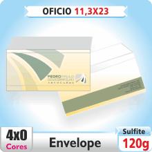 Envelope Ofcio 230×113 mm – 4×0 – Impresso Frente e Costas