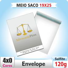 Envelope Meio Saco 190×250 mm – 4×0 – Impresso Frente e Costas