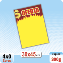 Cartaz Oferta $ – OFS-13